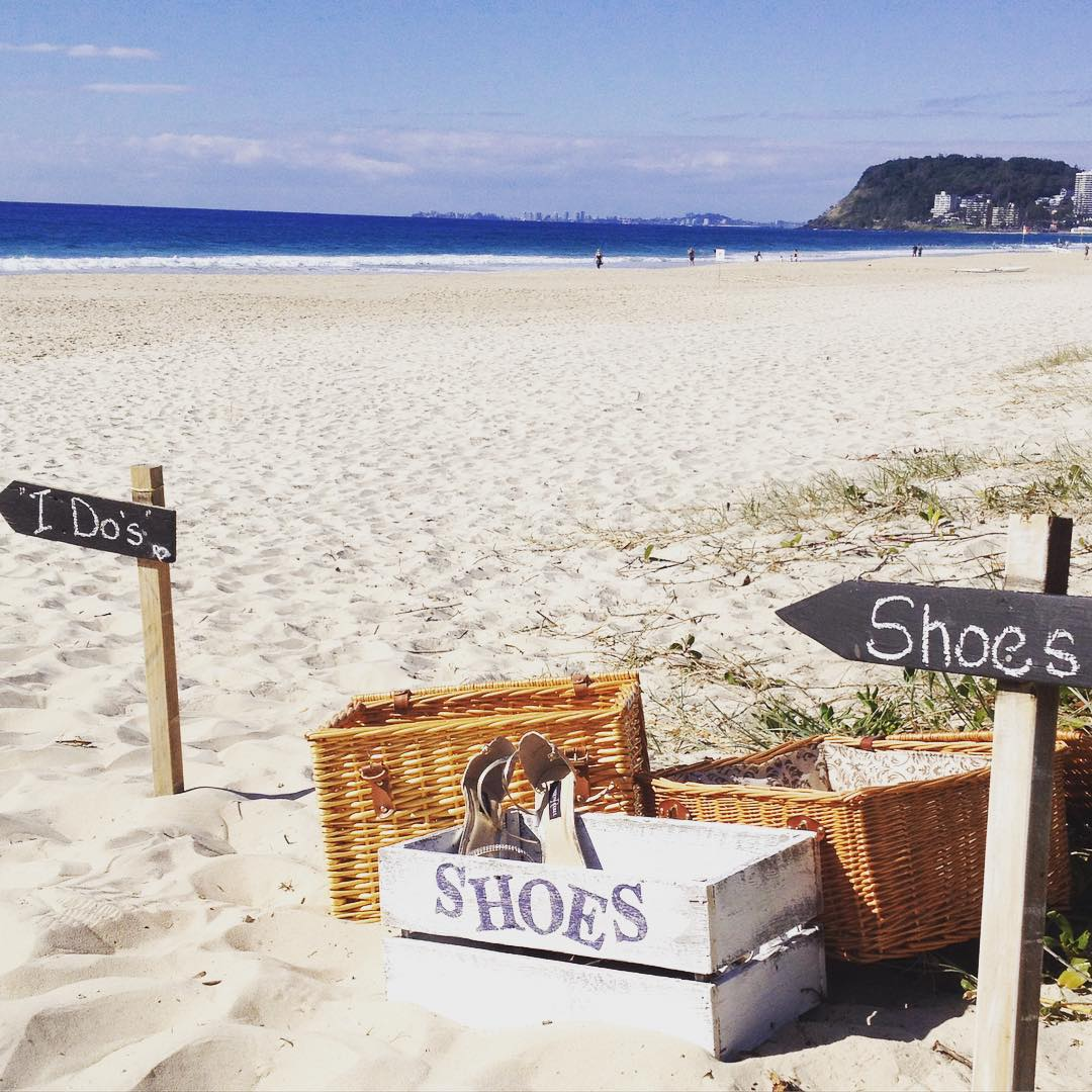 beach wedding packages gold coast